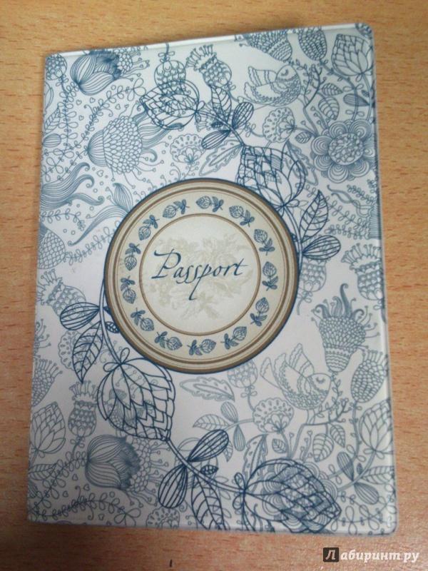 Иллюстрация 1 из 3 для Обложка для паспорта (29058) | Лабиринт - канцтовы. Источник: Клименко  Мария