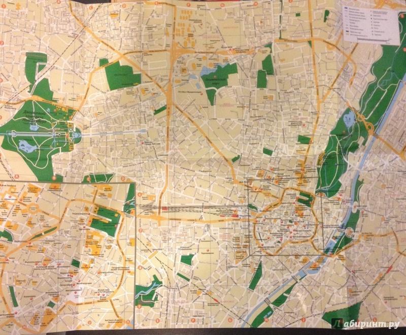 Иллюстрация 1 из 4 для Карта Мюнхена   Лабиринт - книги. Источник: Новик  Екатерина