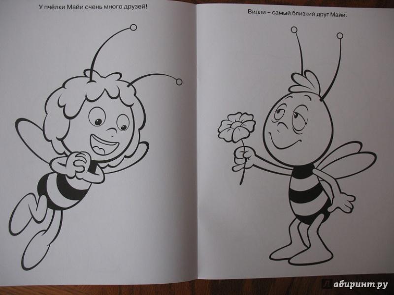 Иллюстрация 1 из 4 для Волшебная раскраска. Пчёлка Майя (№14157) | Лабиринт - книги. Источник: ЕленкаС