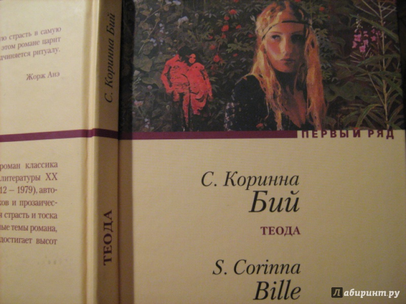 Иллюстрация 1 из 5 для Теода: Роман - Коринна Бий   Лабиринт - книги. Источник: Finese