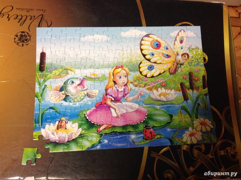 Иллюстрация 1 из 15 для Puzzle-120. MIDI. Дюймовочка (В-12305) | Лабиринт - игрушки. Источник: С  Эльвира Николаевна
