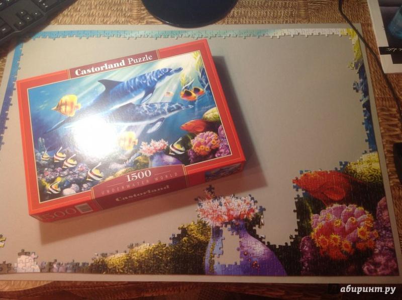 Иллюстрация 1 из 18 для Puzzle-1500. Подводный мир (С-150540) | Лабиринт - игрушки. Источник: Иванов  Игорь Александрович
