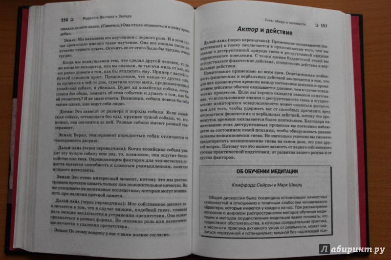 Иллюстрация 1 из 17 для Мудрость Востока и Запада. Психология равновесия - Далай-Лама, Экман | Лабиринт - книги. Источник: Лина