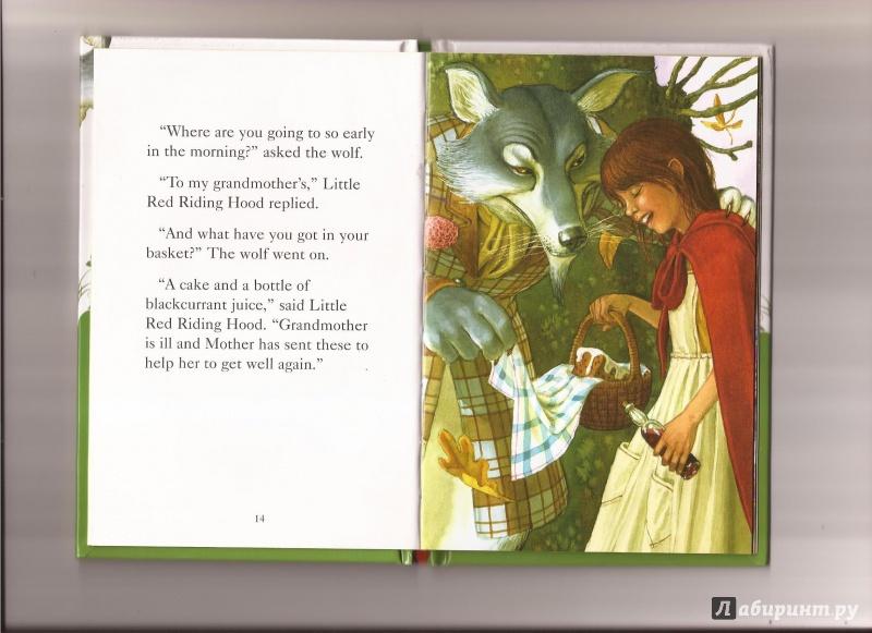 Иллюстрация 1 из 18 для Little Red Riding Hood   Лабиринт - книги. Источник: Jady_Lady