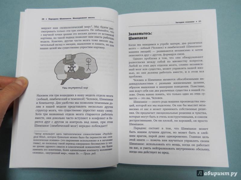Книга Парадокс Шимпанзе. Менеджмент мозга