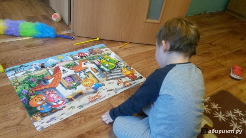 Иллюстрация 1 из 7 для Мозаика для малышей.  Веселые приключения (2405)   Лабиринт - игрушки. Источник: Крестинина  Алёна