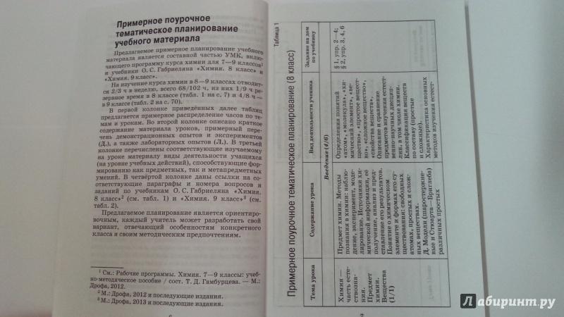 Гдз по химии фгос 8