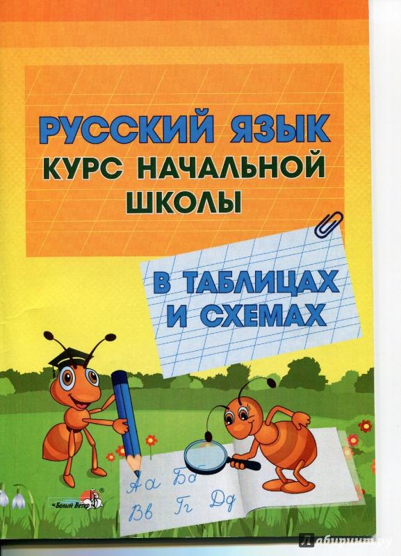 Иллюстрация 1 из 8 для Русский язык. Курс начальной школы в таблицах и схемах   Лабиринт - книги. Источник: Ларочка 55555
