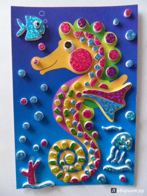 Морской конёк поделка своими руками