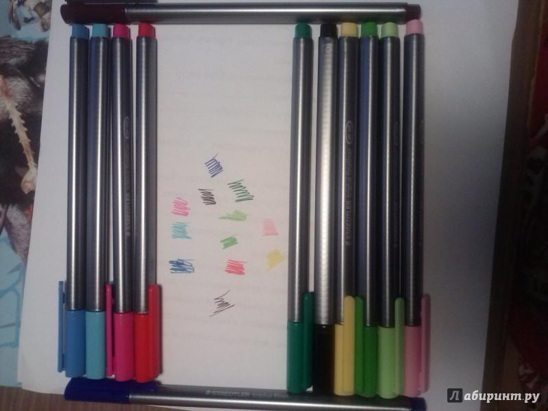 Иллюстрация 1 из 8 для Капиллярная ручка Triplus (0,3 мм., 13 штук) | Лабиринт - канцтовы. Источник: olesyaolesya