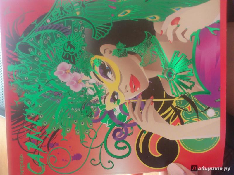 """Иллюстрация 1 из 5 для Тетрадь """"Девушки мира"""", 48 листов, А5, клетка (20959)   Лабиринт - канцтовы. Источник: Савенкова  Кристина"""