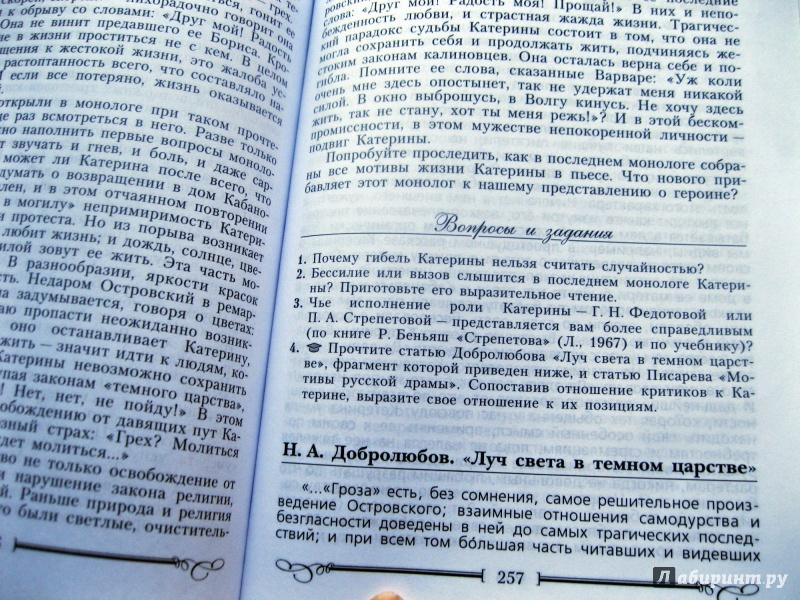 учебник по литературе маранцмана 10 класс онлайн