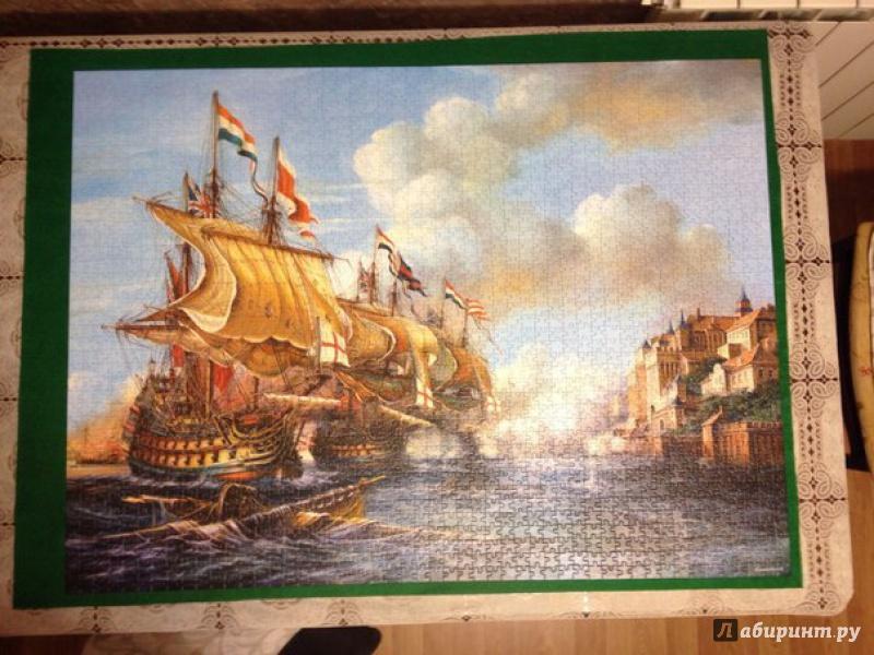 Иллюстрация 1 из 5 для Puzzle-2000. Битва в Порто Белло (С-200245) | Лабиринт - игрушки. Источник: Коровин  Михаил