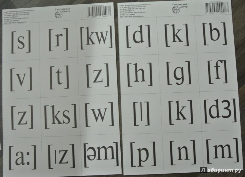 Иллюстрация 1 из 7 для Английский алфавит, разрезной с транскрипцией | Лабиринт - книги. Источник: adsveta
