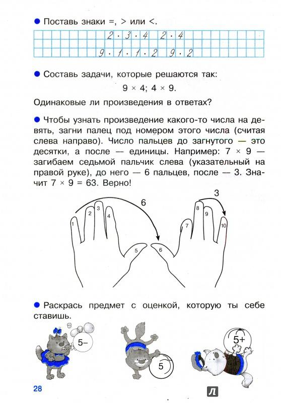 таблица умножения тренажер пифагора