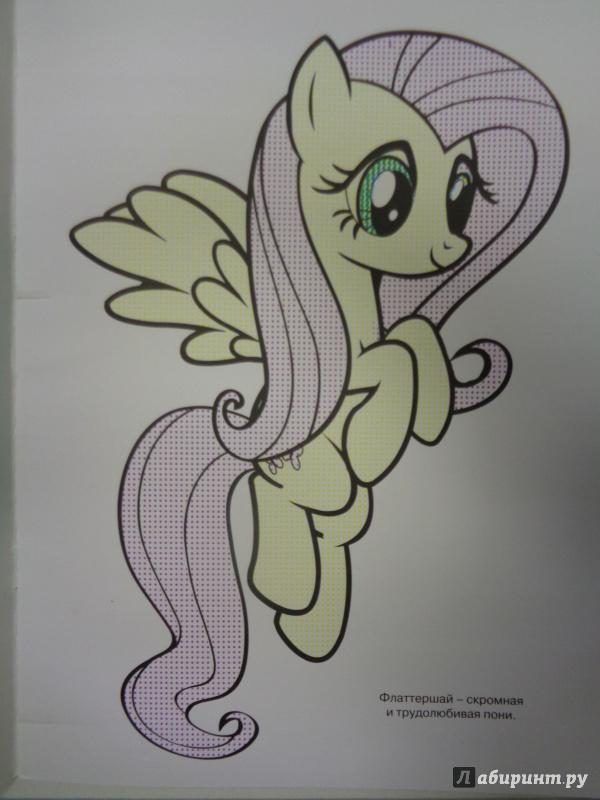 Иллюстрация 1 из 4 для Мой маленький пони. Водная раскраска (№1415) | Лабиринт - книги. Источник: Сокол-Ан