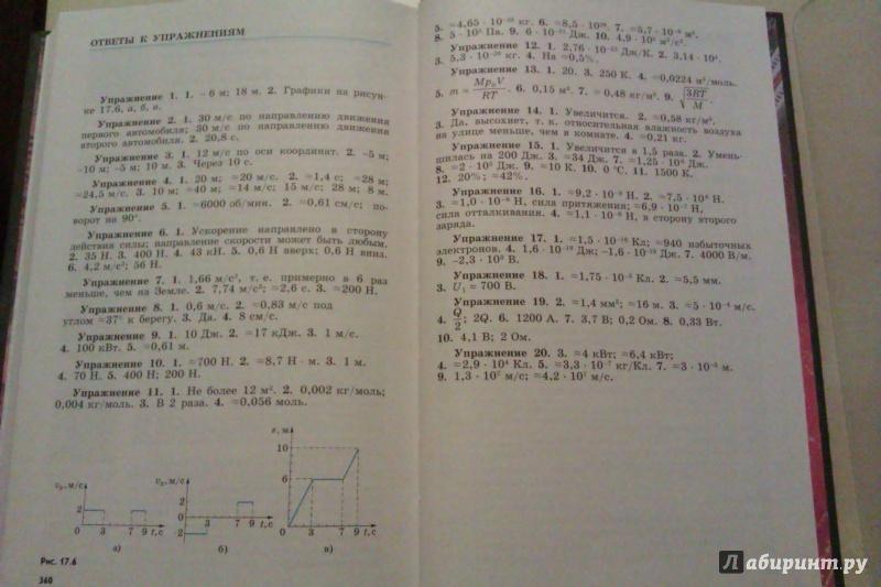 Скачать учебника физика мякишев буховцев 10 класс