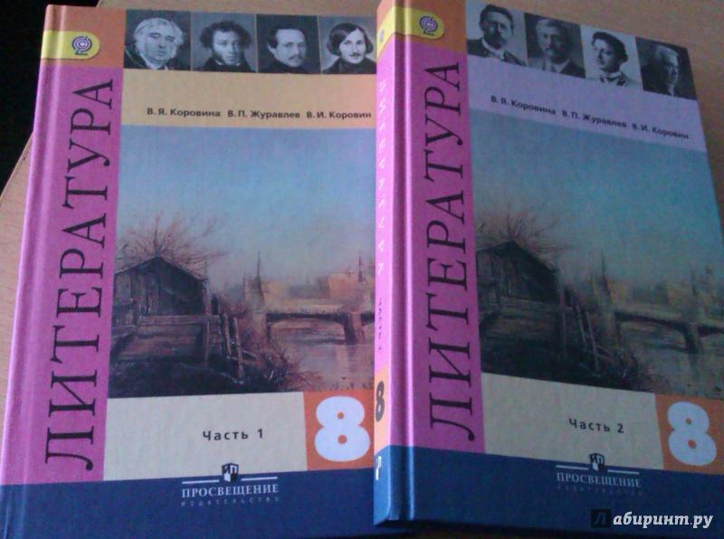 Литература 8 класс в пдф
