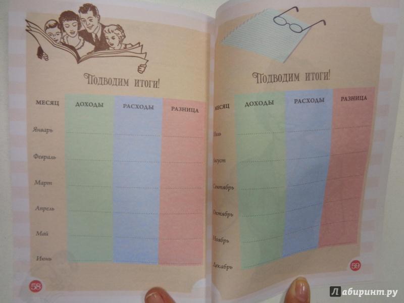 книга доходов и расходов домашнего бюджета
