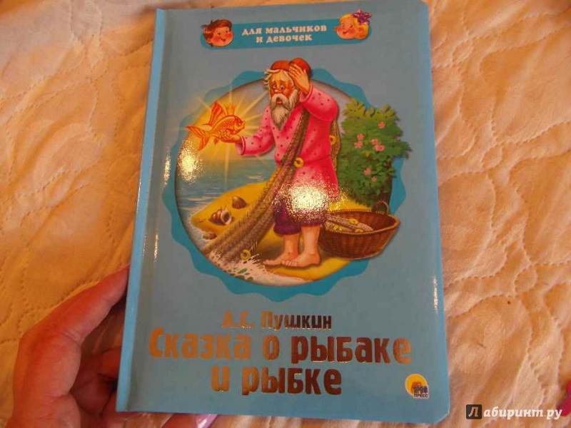 Иллюстрация 1 из 2 для Для мальчиков и девочек. Сказка о рыбаке и рыбке - Александр Пушкин | Лабиринт - книги. Источник: anarchy_8