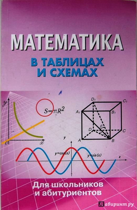Иллюстрация 1 из 15 для Математика в таблицах и схемах | Лабиринт - книги. Источник: Соловьев  Владимир