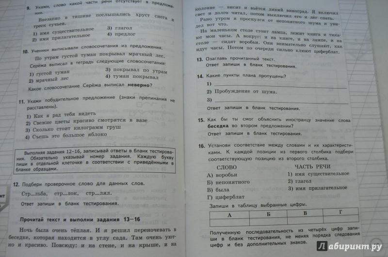 типовые тестовые задания по литературе языканова рыбак