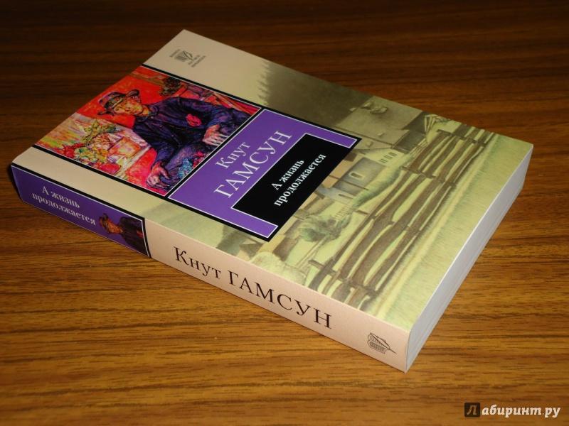 Иллюстрация 1 из 5 для А жизнь продолжается - Кнут Гамсун | Лабиринт - книги. Источник: Danielle
