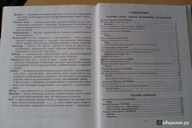 гдз по литературе 5 класс снежневская хренова кац 2 часть