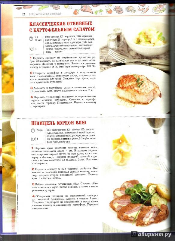 Легкие мясные блюда рецепты
