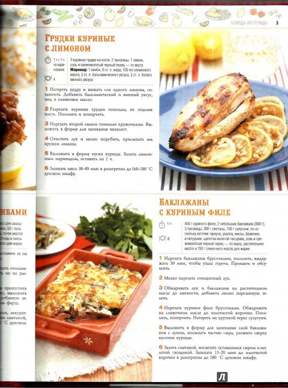 Рецепты лучших мясных блюд