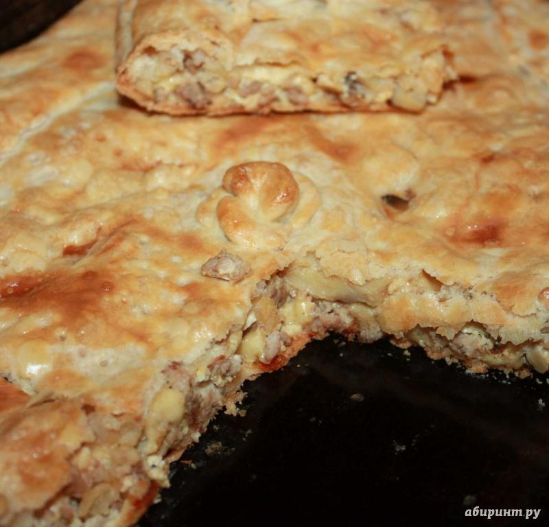 Пирог из слоеного теста видео рецепт