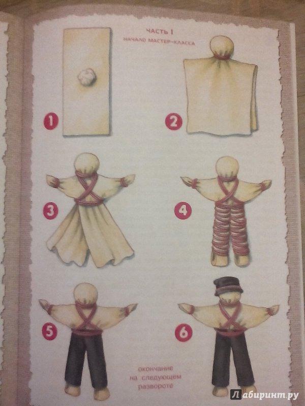 Народные куколки из ткани своими руками без шитья 82
