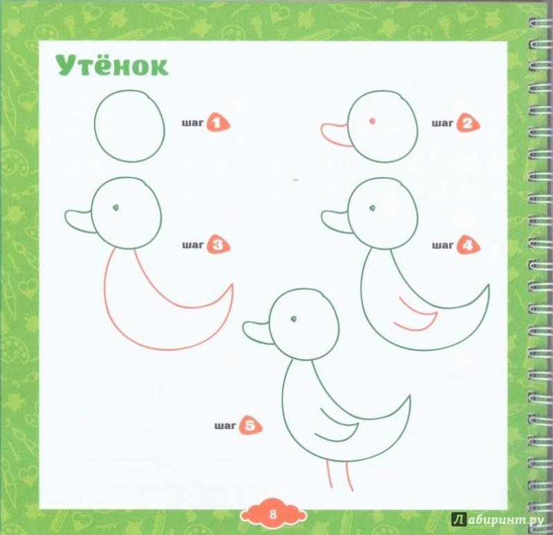 Видео как научить детей рисовать