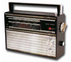 Радиоприёмник создан на основе модели ''ВЭФ-201'' и отличается от него другим внешним оформлением.