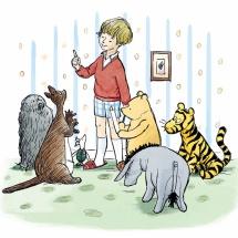 Винни-Пуху 90 лет! Новые книги для малышей с рисунками Шеппарда
