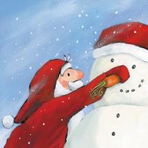 Таинственный незнакомец в красной шубе. Книги про Деда Мороза