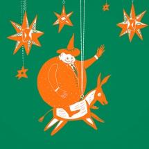 Человек-мандарин, Щелкунчик и снежинка Ксюша. Новогодние сказки за 200 лет