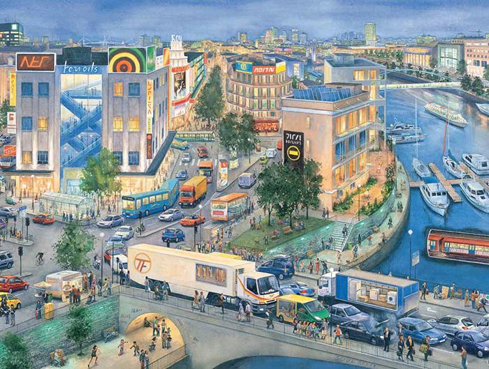 Стив Нун, «Город сквозь время»