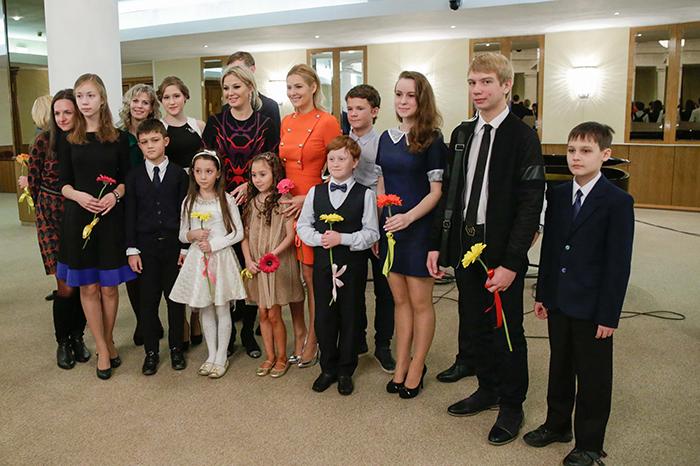 Победители конкурса «Дети читают стихи» на творческой встрече в Государственной думе