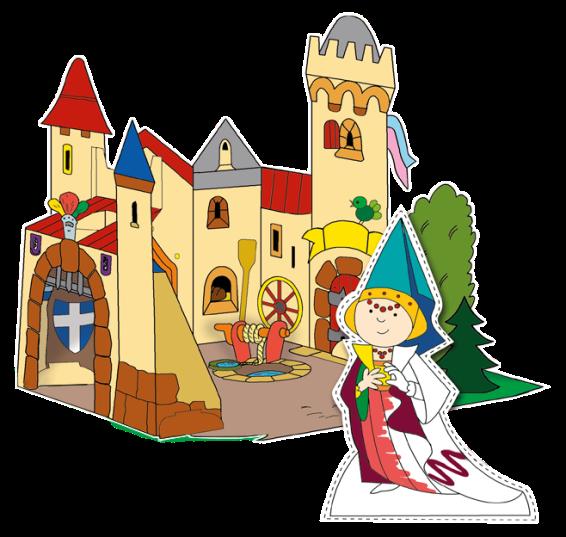 Книга-игра Дворец принцессы