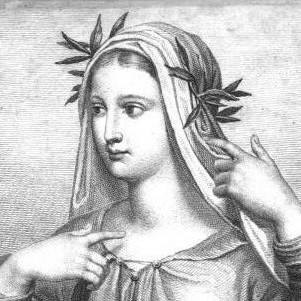 В одежду какого цвета была одета Беатриче во время своей второй встречи с Данте, описанной им в «Новой жизни»?
