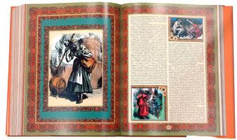 Разворот книги Ханса Кристиана Андерсена