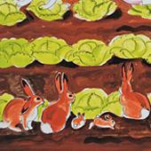 Рисунок Ипкар Далов. frostgullygallery.com/artists-ipcar-dahlov.html