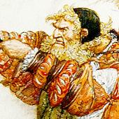 Храбрый портняжка. Иллюстратор Антон Ломаев