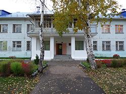 Здание Детского дома г. Глазова