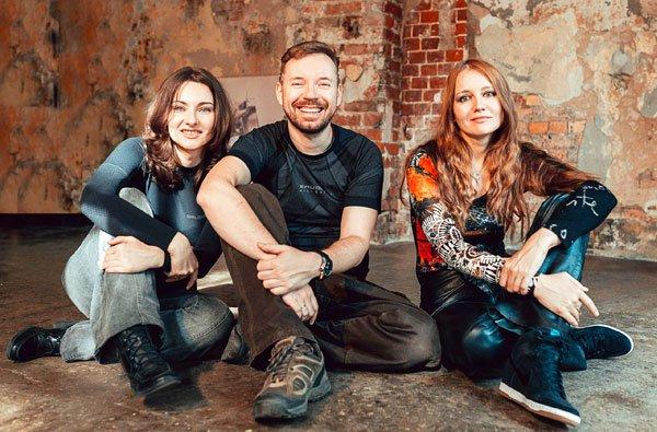 Алексей Пехов, Елена Бычкова и Наталья Турчанинова