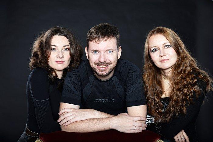 Елена Бычкова, Алексей Пехов и Наталья Турчанинова
