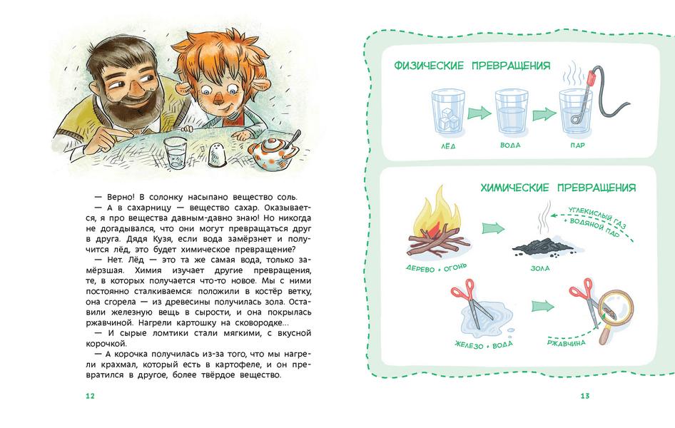 """Елена Качур """"Увлекательная химия"""""""