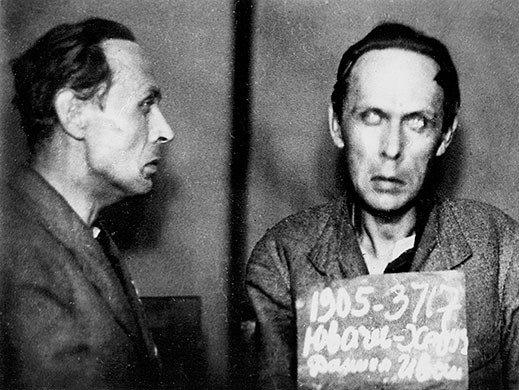 Последнее фото Хармса из следственного дела, 1941 г.