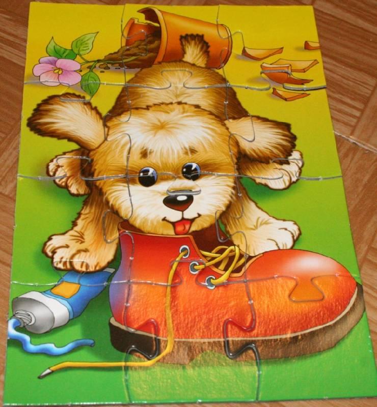 Иллюстрация 1 из 7 для Играй и собирай. Веселые малыши (1022) | Лабиринт - игрушки. Источник: Котёнок по имени Гав